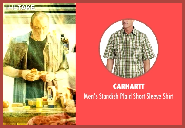 Carhartt green shirt from Savages seen with John Travolta (Dennis)
