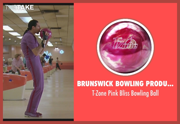Brunswick Bowling Products ball from The Big Lebowski seen with John Turturro (Jesus Quintana)