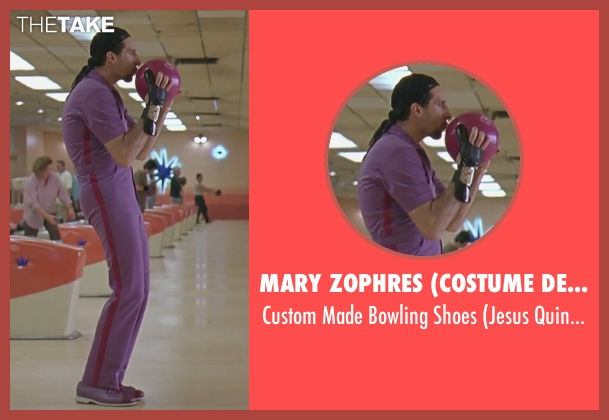 Mary Zophres (Costume Designer) shoes from The Big Lebowski seen with John Turturro (Jesus Quintana)