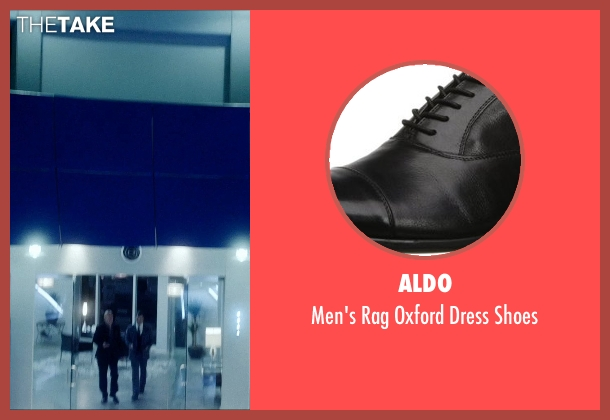 Aldo black shoes from Vice seen with Johnathon Schaech (Chris A.)