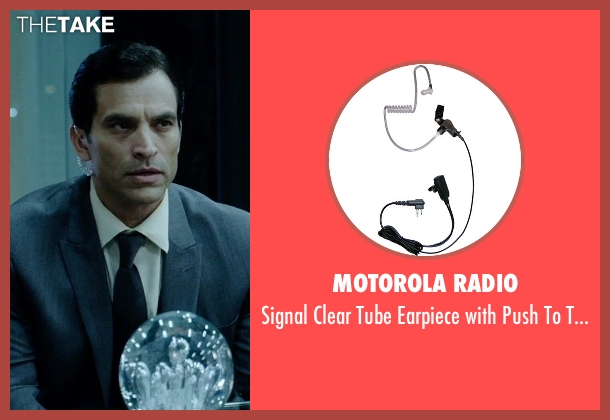 Motorola Radio talk from Vice seen with Johnathon Schaech (Chris A.)