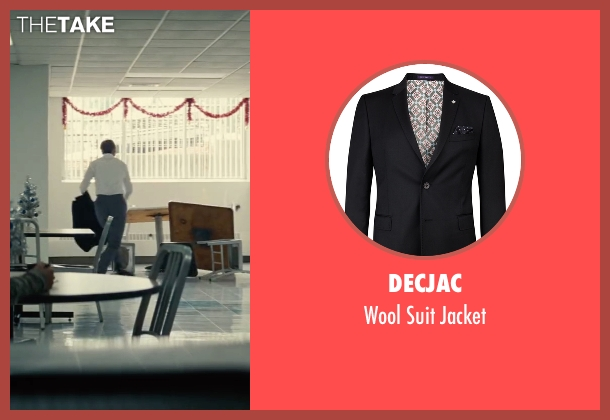 Decjac black jacket from Black Mass seen with Johnny Depp (Whitey Bulger)
