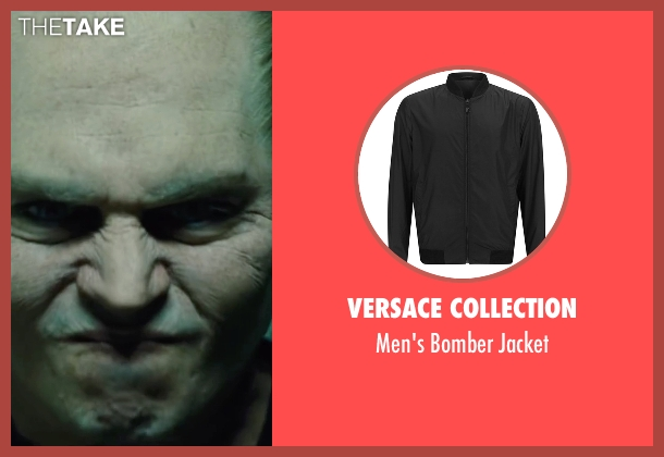 Versace Collection black jacket from Black Mass seen with Johnny Depp (Whitey Bulger)