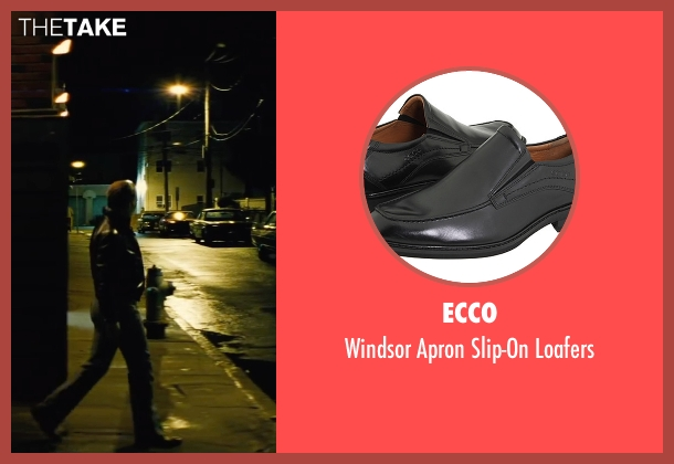 Ecco black loafers from Black Mass seen with Johnny Depp (Whitey Bulger)