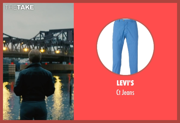 Levi's blue jeans from Black Mass seen with Johnny Depp (Whitey Bulger)