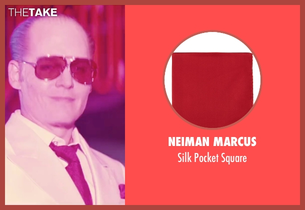 Neiman Marcus red square from Black Mass seen with Johnny Depp (Whitey Bulger)