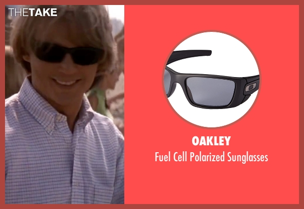 Oakley black sunglasses from Blow seen with Johnny Depp (George Jung)