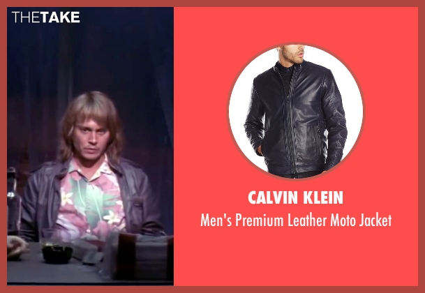Calvin Klein blue jacket from Blow seen with Johnny Depp (George Jung)