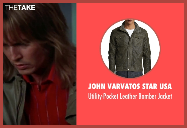 John Varvatos Star USA green jacket from Blow seen with Johnny Depp (George Jung)
