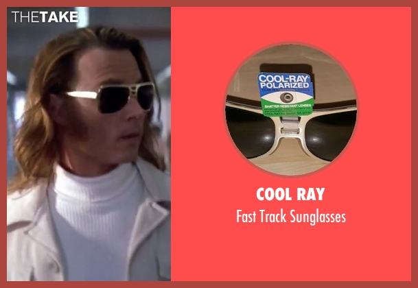 Cool Ray silver sunglasses from Blow seen with Johnny Depp (George Jung)