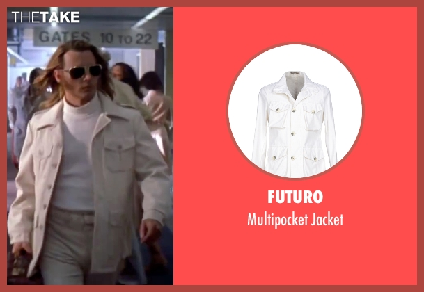 Futuro white jacket from Blow seen with Johnny Depp (George Jung)