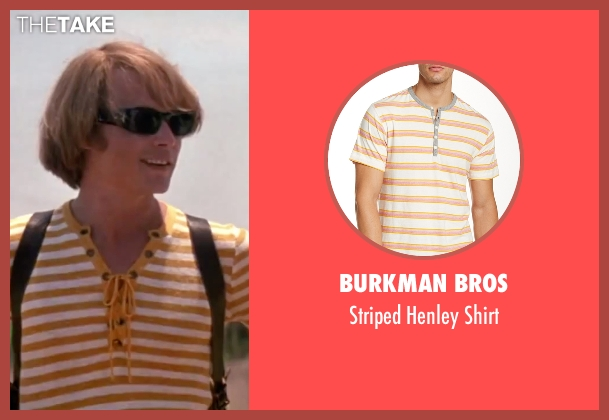 Burkman Bros white shirt from Blow seen with Johnny Depp (George Jung)