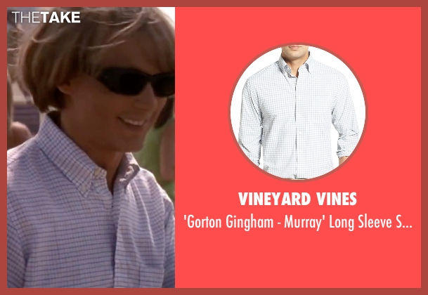 Vineyard Vines  white shirt from Blow seen with Johnny Depp (George Jung)