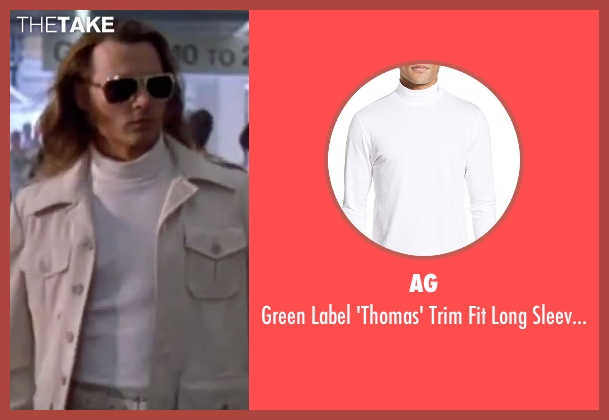 AG white shirt from Blow seen with Johnny Depp (George Jung)