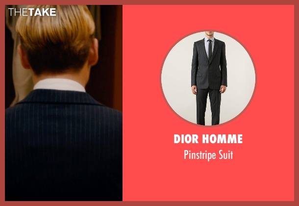 Dior Homme black suit from Mortdecai seen with Johnny Depp (Charles Mortdecai)