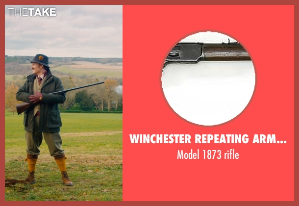 Winchester Repeating Arms Company rifle from Mortdecai seen with Johnny Depp (Charles Mortdecai)