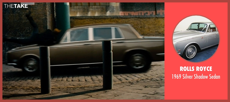 Rolls Royce sedan from Mortdecai seen with Johnny Depp (Charles Mortdecai)