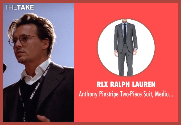RLX Ralph Lauren gray gray from Transcendence seen with Johnny Depp (Will Caster)
