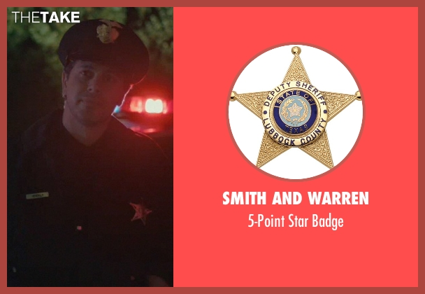 Smith and Warren badge from John Wick seen with Johnny Serret (Police Officer)