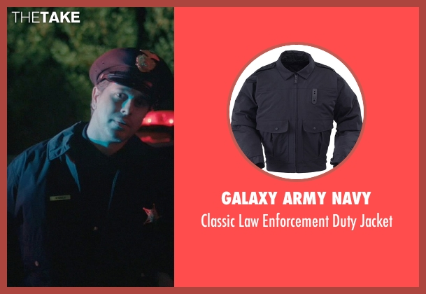 Galaxy Army Navy jacket from John Wick seen with Johnny Serret (Police Officer)