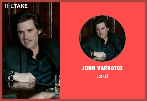 John Varvatos black jacket from Limitless seen with Johnny Whitworth (Vernon)