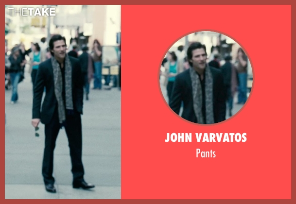 John Varvatos black pants from Limitless seen with Johnny Whitworth (Vernon)