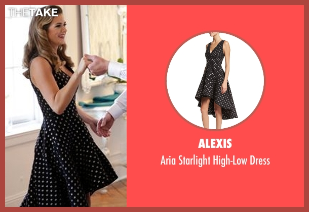 Alexis black dress from The Bachelorette seen with JoJo Fletcher