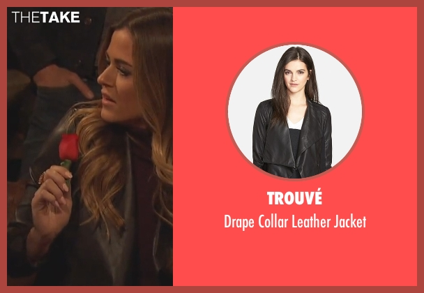 Trouvé black jacket from The Bachelorette seen with JoJo Fletcher