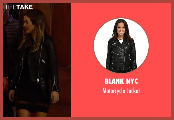 Blank NYC black jacket from The Bachelorette seen with JoJo Fletcher