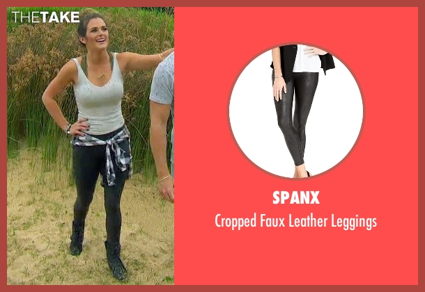 Spanx black leggings from The Bachelorette seen with JoJo Fletcher