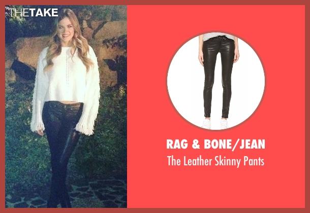 Rag & Bone/JEAN black pants from The Bachelorette seen with JoJo Fletcher