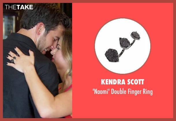 Kendra Scott black ring from The Bachelorette seen with JoJo Fletcher