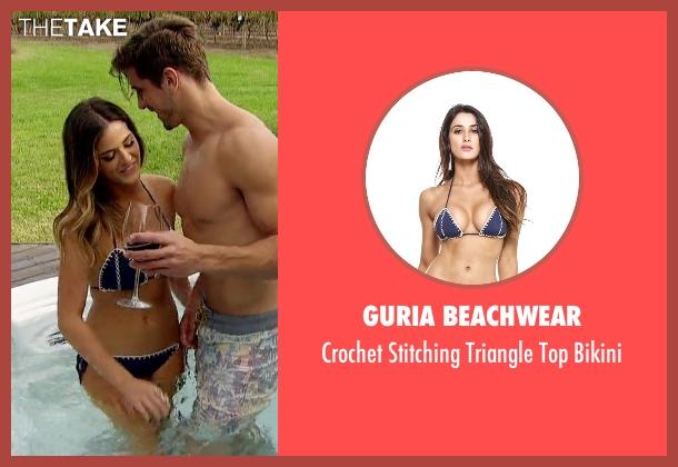 Guria Beachwear blue bikini from The Bachelorette seen with JoJo Fletcher