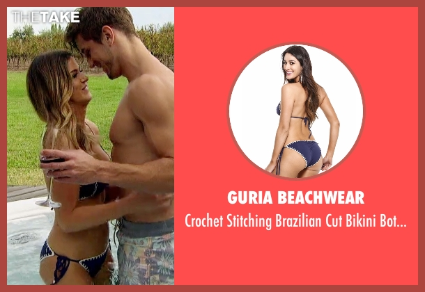 Guria Beachwear blue bottom from The Bachelorette seen with JoJo Fletcher