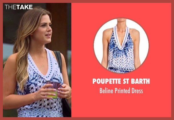 Poupette St Barth blue dress from The Bachelorette seen with JoJo Fletcher