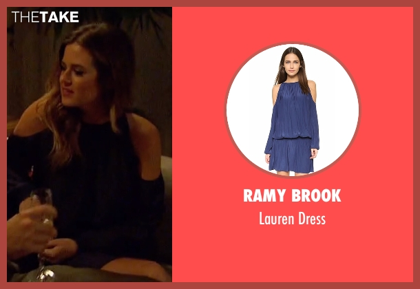 Ramy Brook blue dress from The Bachelorette seen with JoJo Fletcher