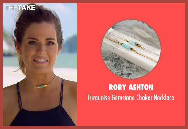 Rory Ashton blue necklace from The Bachelorette seen with JoJo Fletcher