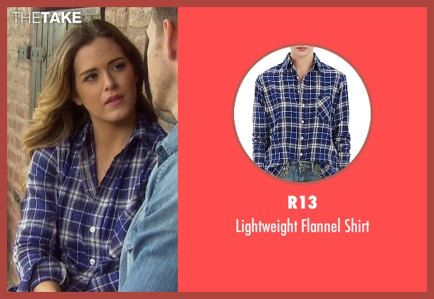 R13 blue shirt from The Bachelorette seen with JoJo Fletcher