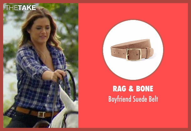 Rag & Bone brown belt from The Bachelorette seen with JoJo Fletcher