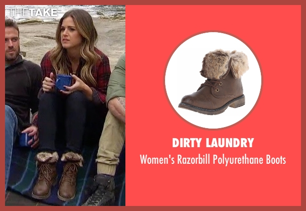 Dirty Laundry brown boots from The Bachelorette seen with JoJo Fletcher