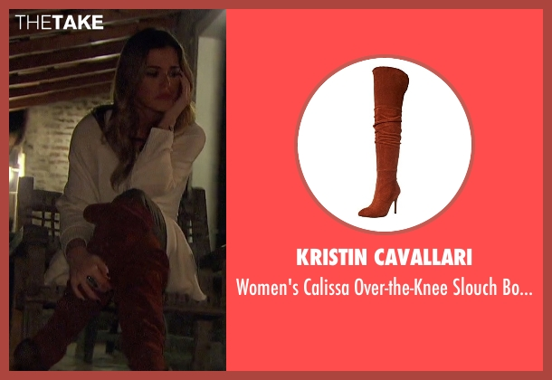 Kristin Cavallari brown boots from The Bachelorette seen with JoJo Fletcher