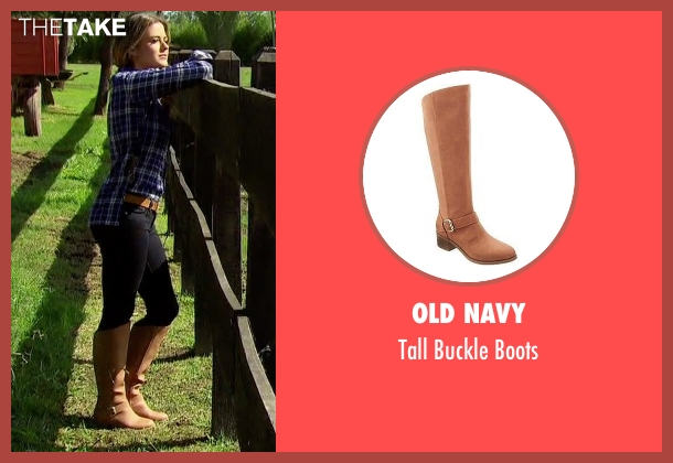 Old Navy brown boots from The Bachelorette seen with JoJo Fletcher