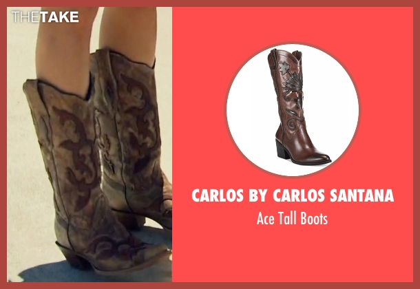 Carlos by Carlos Santana brown boots from The Bachelorette seen with JoJo Fletcher