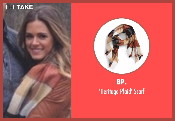 BP. brown scarf from The Bachelorette seen with JoJo Fletcher
