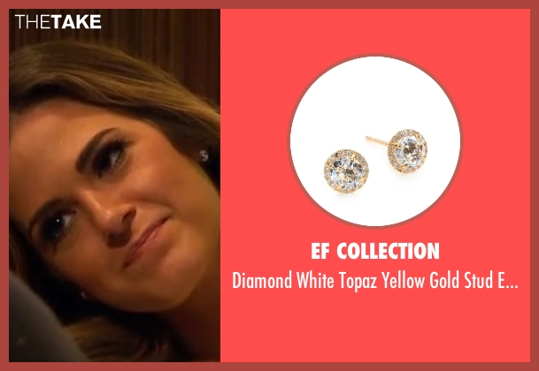 EF Collection gold earrings from The Bachelorette seen with JoJo Fletcher