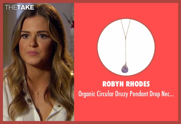 Robyn Rhodes gold necklace from The Bachelorette seen with JoJo Fletcher