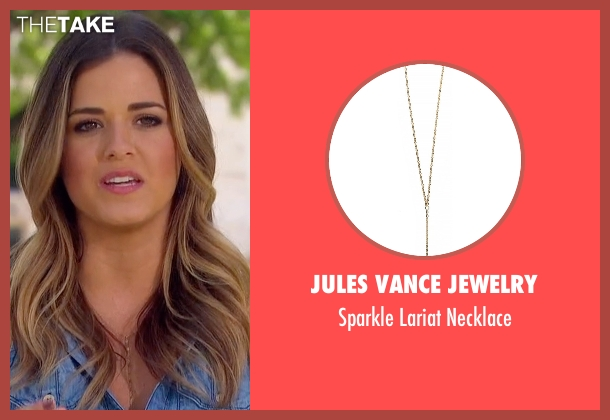Jules Vance Jewelry gold necklace from The Bachelorette seen with JoJo Fletcher