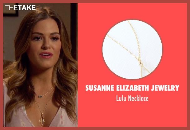 Susanne Elizabeth Jewelry gold necklace from The Bachelorette seen with JoJo Fletcher