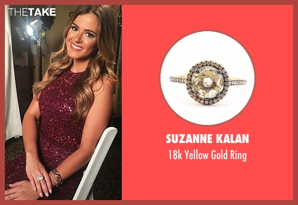 Suzanne Kalan gold ring from The Bachelorette seen with JoJo Fletcher