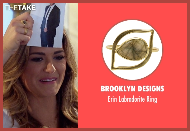 Brooklyn Designs gold ring from The Bachelorette seen with JoJo Fletcher